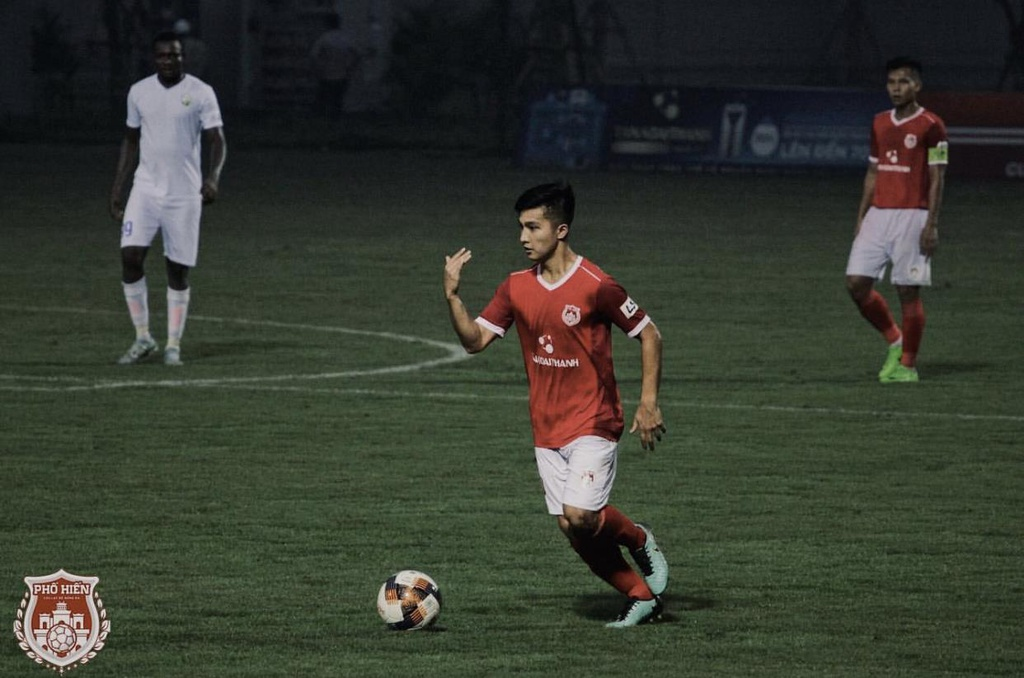 Martin Lo,  U23 Viet Nam,  cau thu Viet kieu,  Pho Hien FC,  SEA Games 30 anh 3