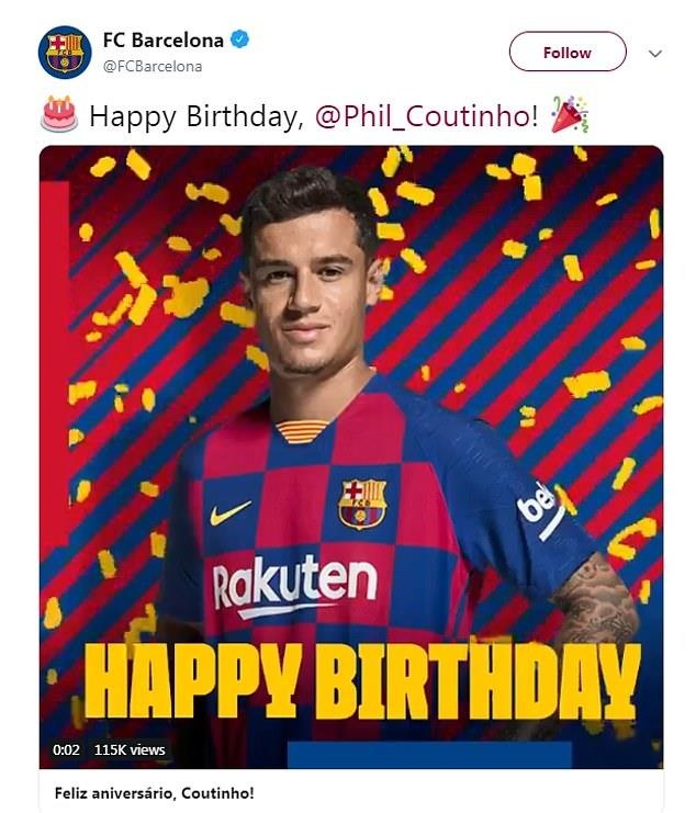 Coutinho bi CDV Liverpool che gieu trong ngay sinh nhat hinh anh 1