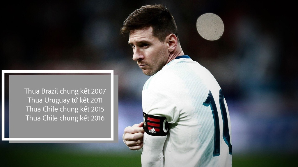 Su menh de nang len vai Lionel Messi o Copa America hinh anh 1
