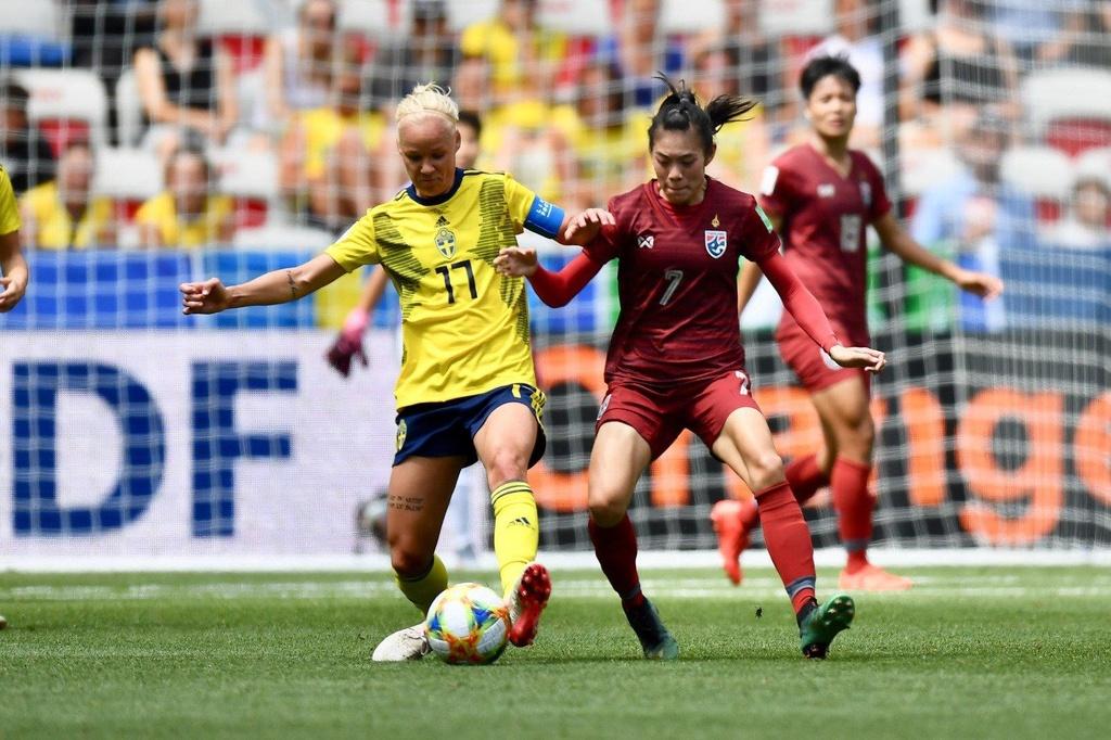 HLV Nualphan Lamsam,  doi tuyen nu Thai Lan,  World Cup nu 2019,  doi tuyen nu Thuy Dien anh 2