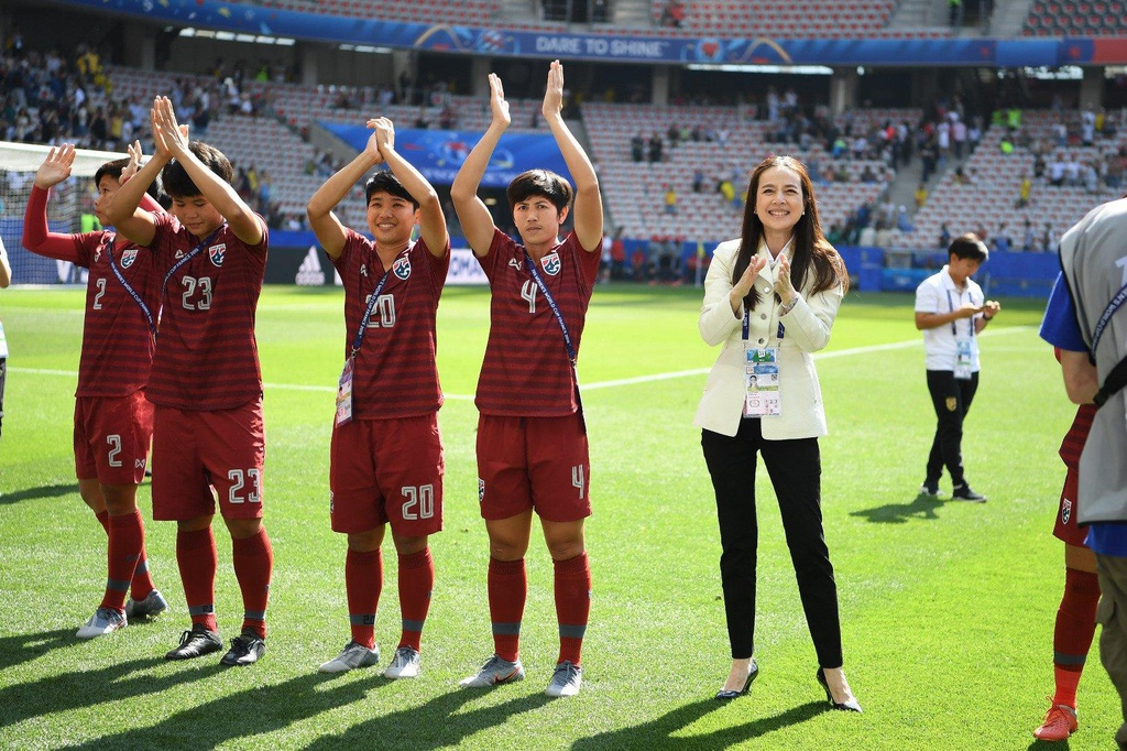 HLV Nualphan Lamsam,  doi tuyen nu Thai Lan,  World Cup nu 2019,  doi tuyen nu Thuy Dien anh 7