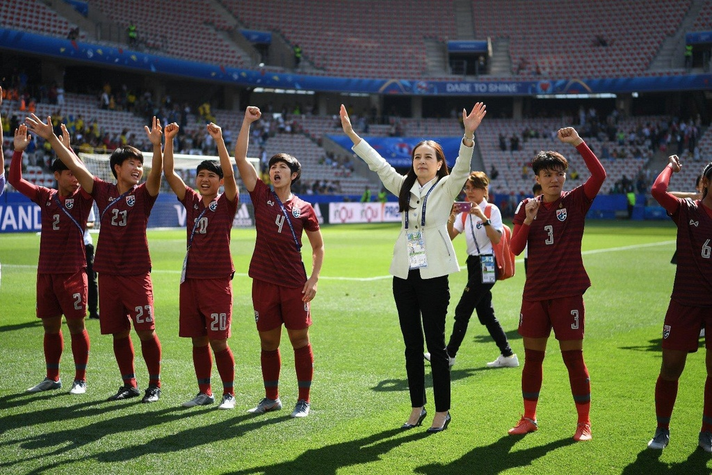 HLV Nualphan Lamsam,  doi tuyen nu Thai Lan,  World Cup nu 2019,  doi tuyen nu Thuy Dien anh 8