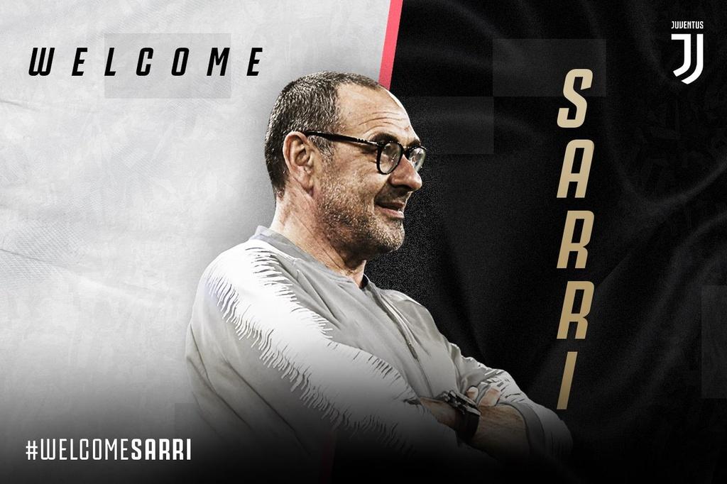 HLV Sarri di may bay den nhan viec o Juventus hinh anh 8