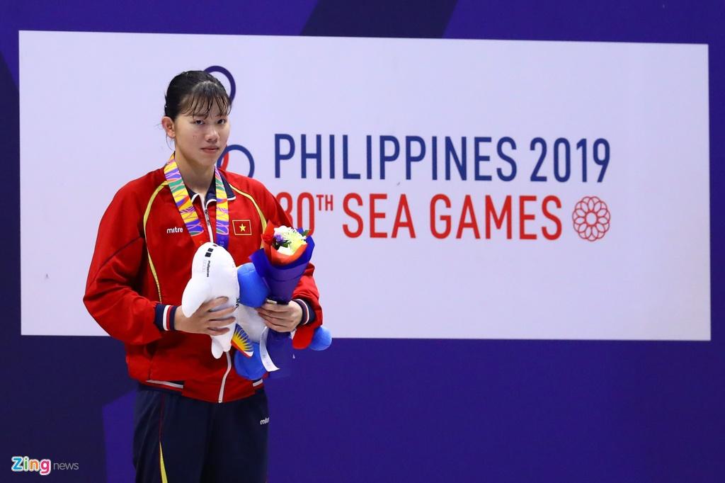Niem vui khong tron ven cua Anh Vien du co HCV dau tien o SEA Games 30 hinh anh 7