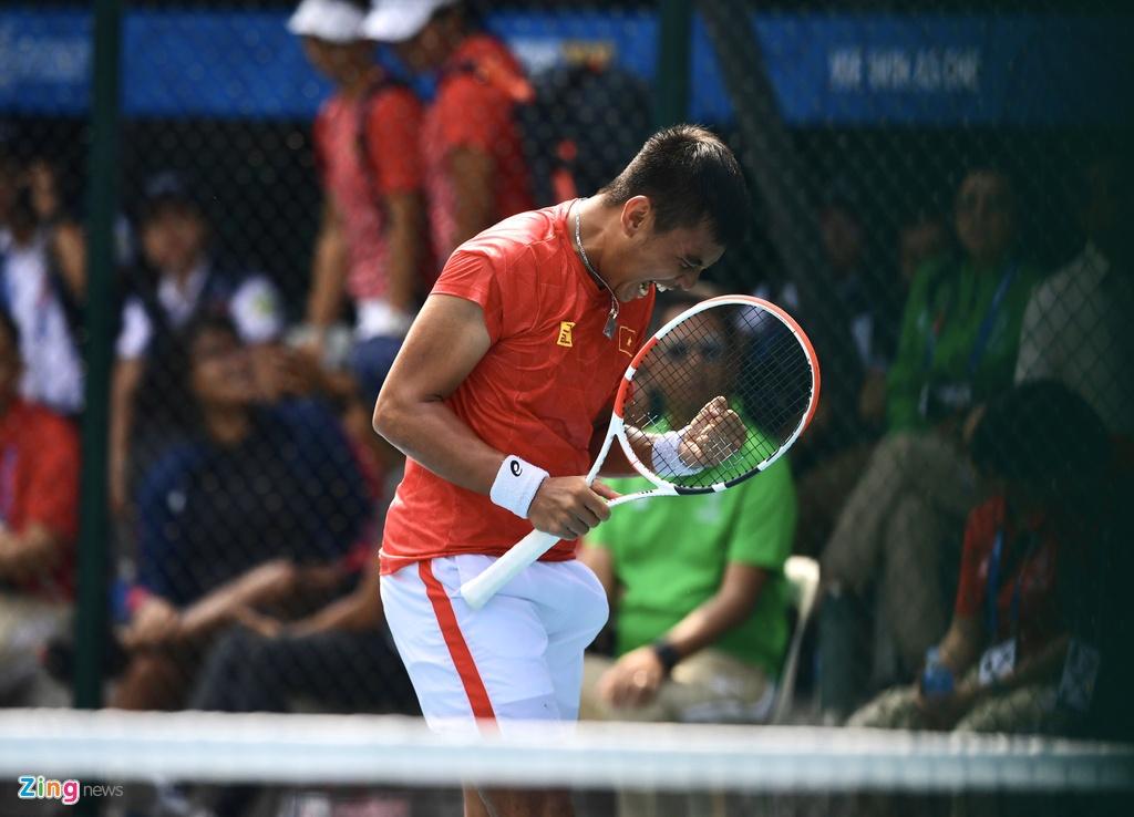 Ly Hoang Nam giup doan Viet Nam co HCV mon tennis tai SEA Games hinh anh 4