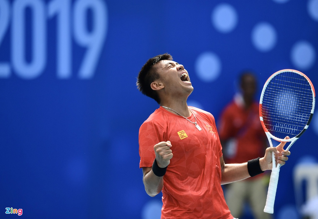 Ly Hoang Nam giup doan Viet Nam co HCV mon tennis tai SEA Games hinh anh 7