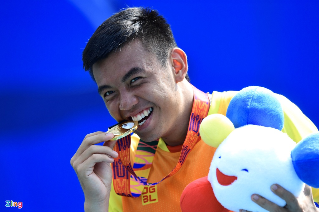 Ly Hoang Nam giup doan Viet Nam co HCV mon tennis tai SEA Games hinh anh 9