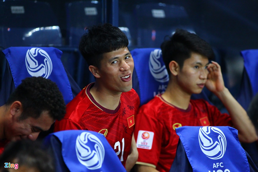 Ban gai Hoang Duc den co vu U23 Viet Nam doi dau Jordan hinh anh 5 hoangduc4_zing.jpg