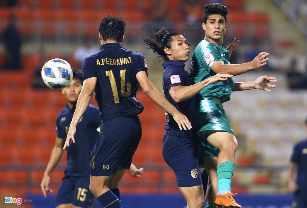 HLV Nishino dua Thai Lan lan dau vao tu ket U23 chau A hinh anh 6 d9b50c62fe0b06555f1a_zing.jpg