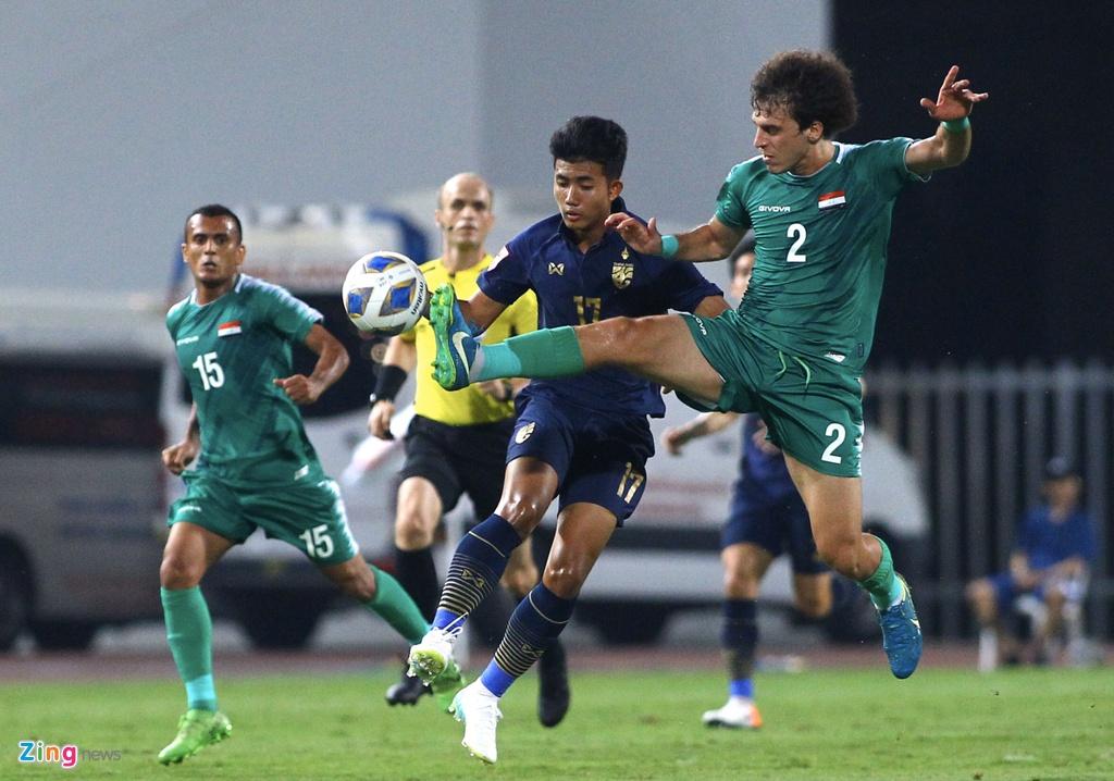 HLV Nishino dua Thai Lan lan dau vao tu ket U23 chau A hinh anh 4 thailand10_zing.jpg