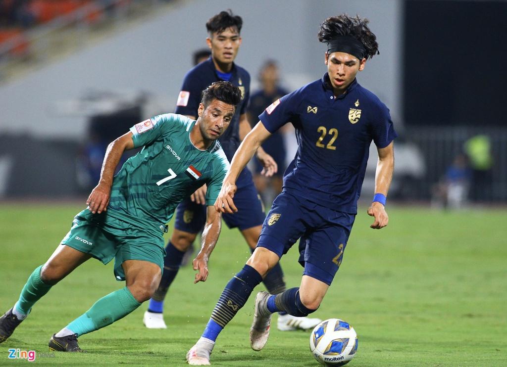 HLV Nishino dua Thai Lan lan dau vao tu ket U23 chau A hinh anh 1 thailand6_zing.jpg