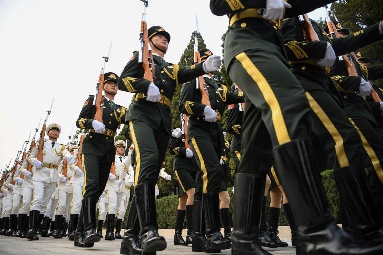 Trung Quoc don Trump bang nghi le dac biet nhat trong gan 70 nam hinh anh 1