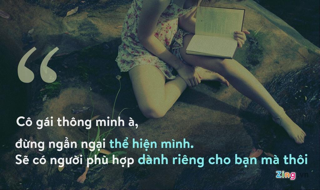 Hay yeu mot co gai thong minh va hanh dien vi dieu do! hinh anh 7