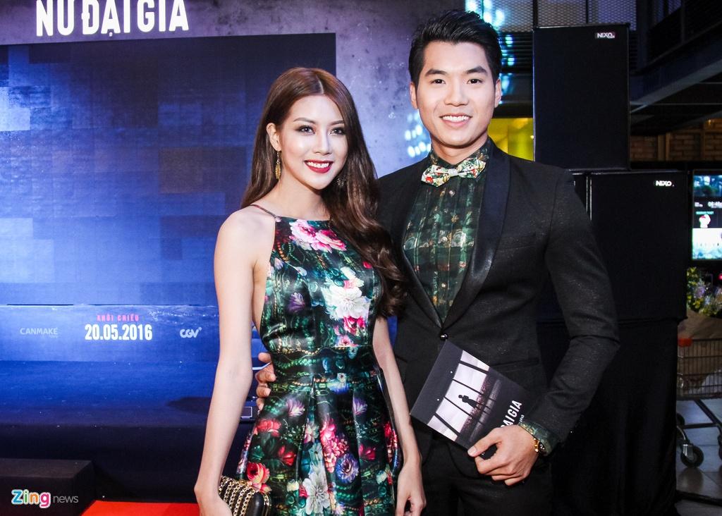 MC Ky Duyen hon Truong Quynh Anh tren tham do ra mat phim hinh anh 12