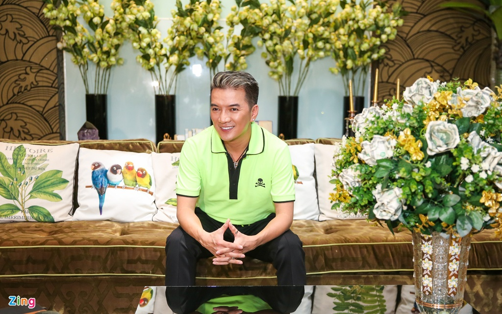 Biet thu 3 trieu USD cua Dam Vinh Hung anh 1