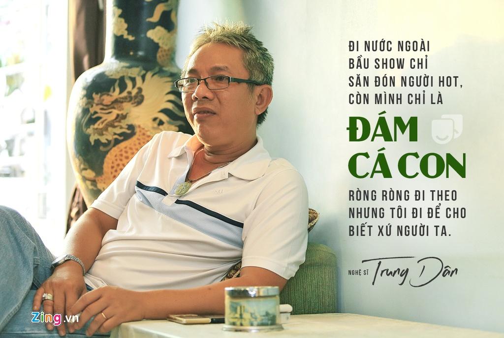 Nghe si Trung Dan - nguoi khien Hoai Linh, Tran Thanh phai ne phuc hinh anh 2