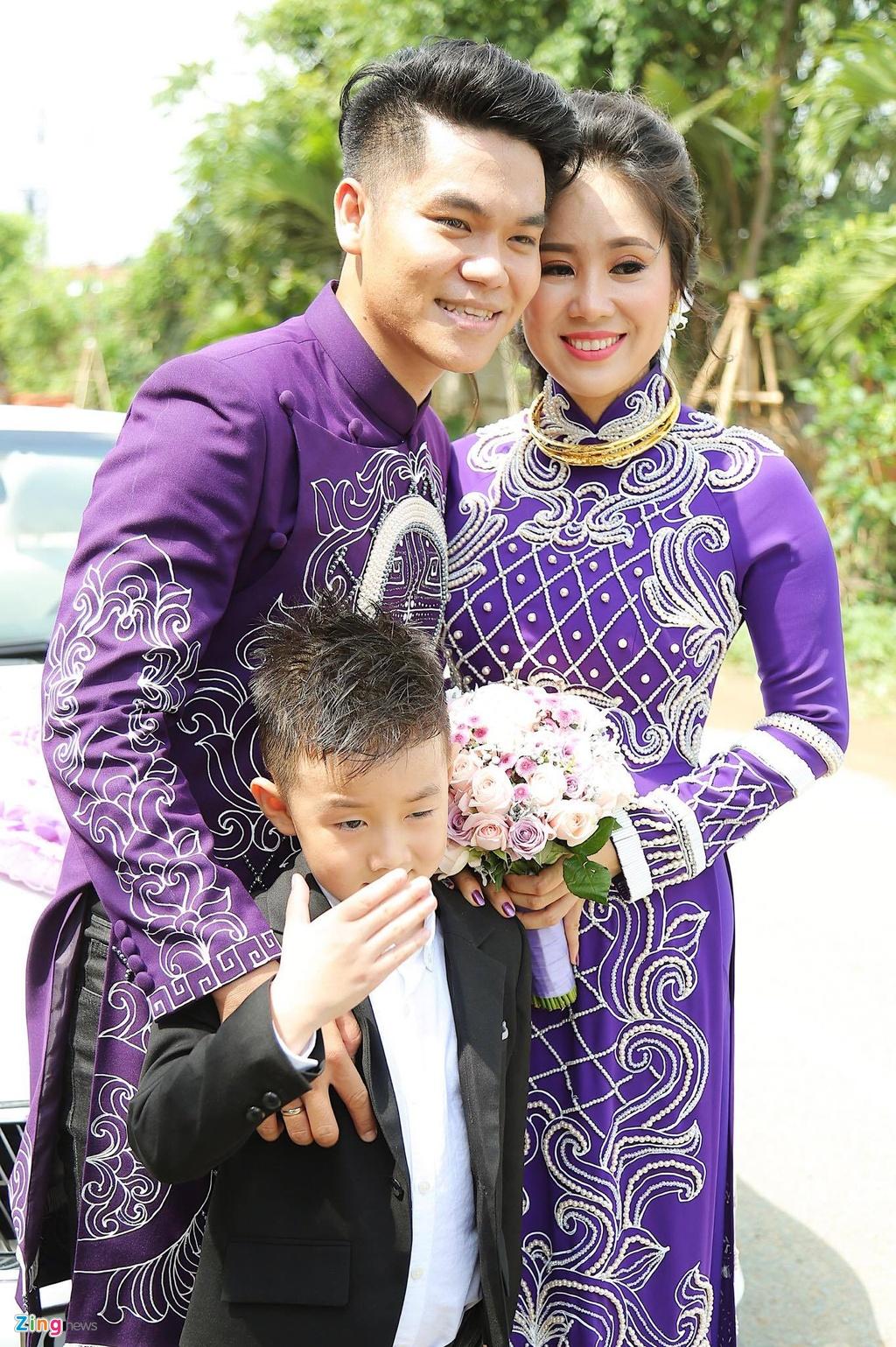 Le Phuong rang ngoi trong le cuoi lan hai o Tra Vinh hinh anh 15