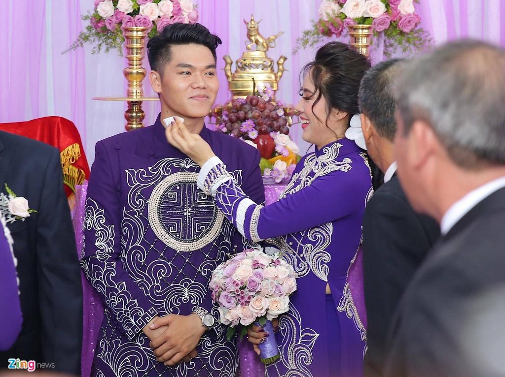 Le Phuong rang ngoi trong le cuoi lan hai o Tra Vinh hinh anh 8