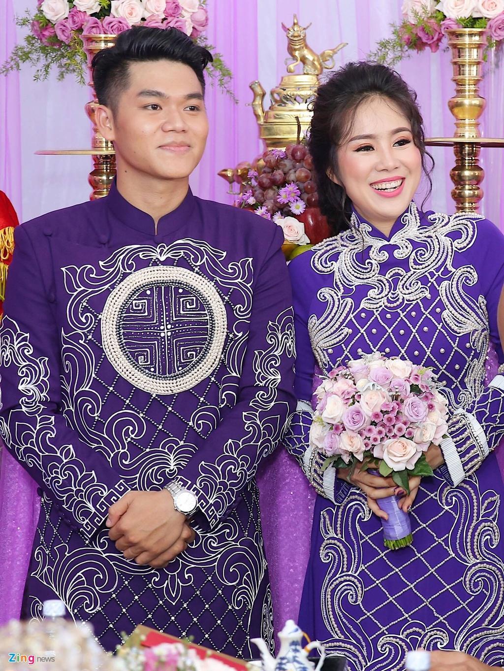 Le Phuong rang ngoi trong le cuoi lan hai o Tra Vinh hinh anh 9