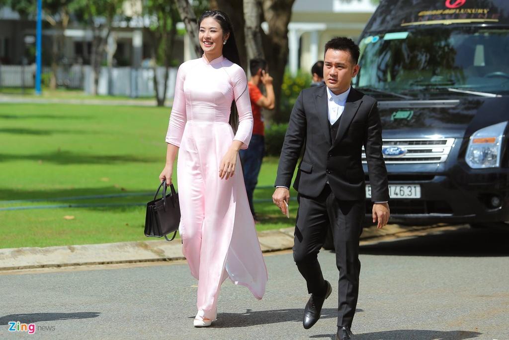 Hoa hau Ngoc Han tuoi tan lam phu dau cho Dang Thu Thao hinh anh 3