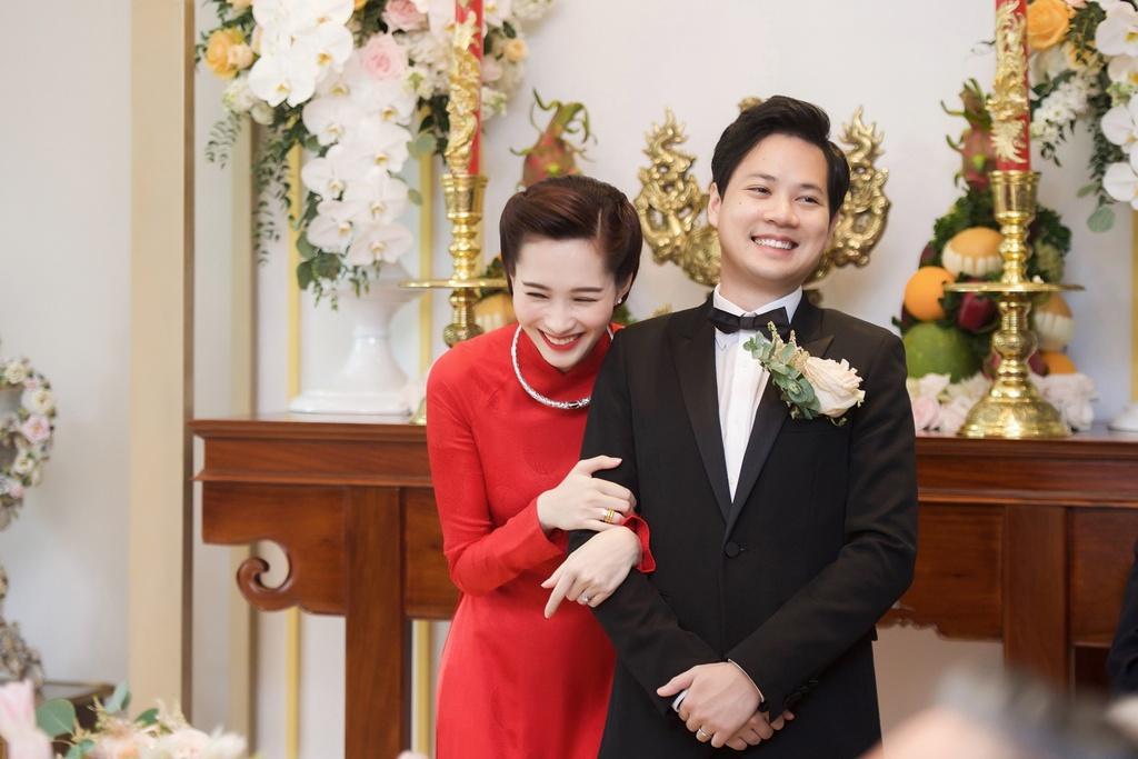 Hoa hau Ngoc Han tuoi tan lam phu dau cho Dang Thu Thao hinh anh 6