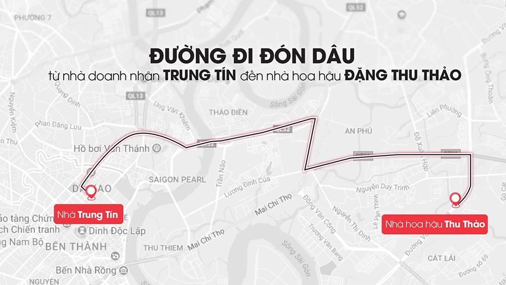 Hoa hau Dang Thu Thao rang ngoi ben chong dai gia trong le ruoc dau hinh anh 11