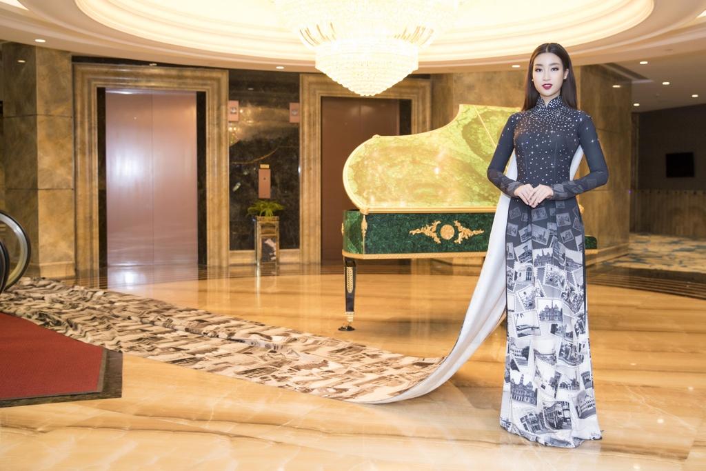 Angela Phuong Trinh dien ao dai dinh da quy o Le hoi ao dai 2018 hinh anh 3