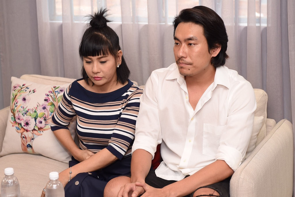 Cat Phuong khoc, Kieu Minh Tuan xin loi sau on ao 'yeu' An Nguy hinh anh 1