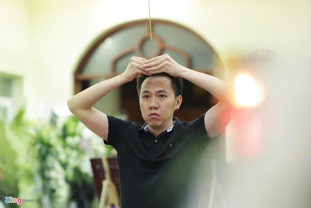 Hung Thuan 'Dat phuong Nam' va cac dien vien tien biet nghe si Le Binh hinh anh 10