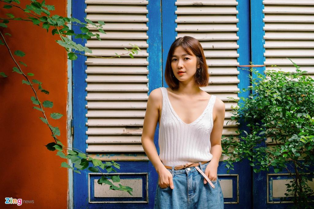 Nhan sac Oanh Kieu Tieng set trong mua anh 1