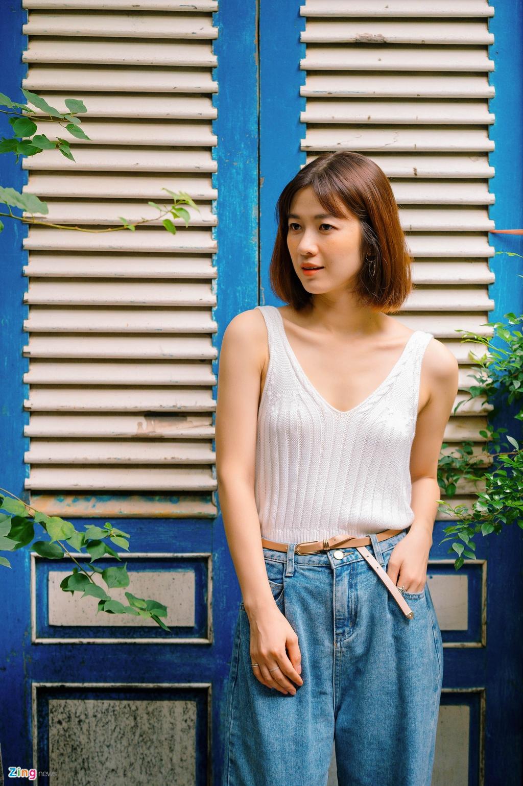 Nhan sac Oanh Kieu Tieng set trong mua anh 4