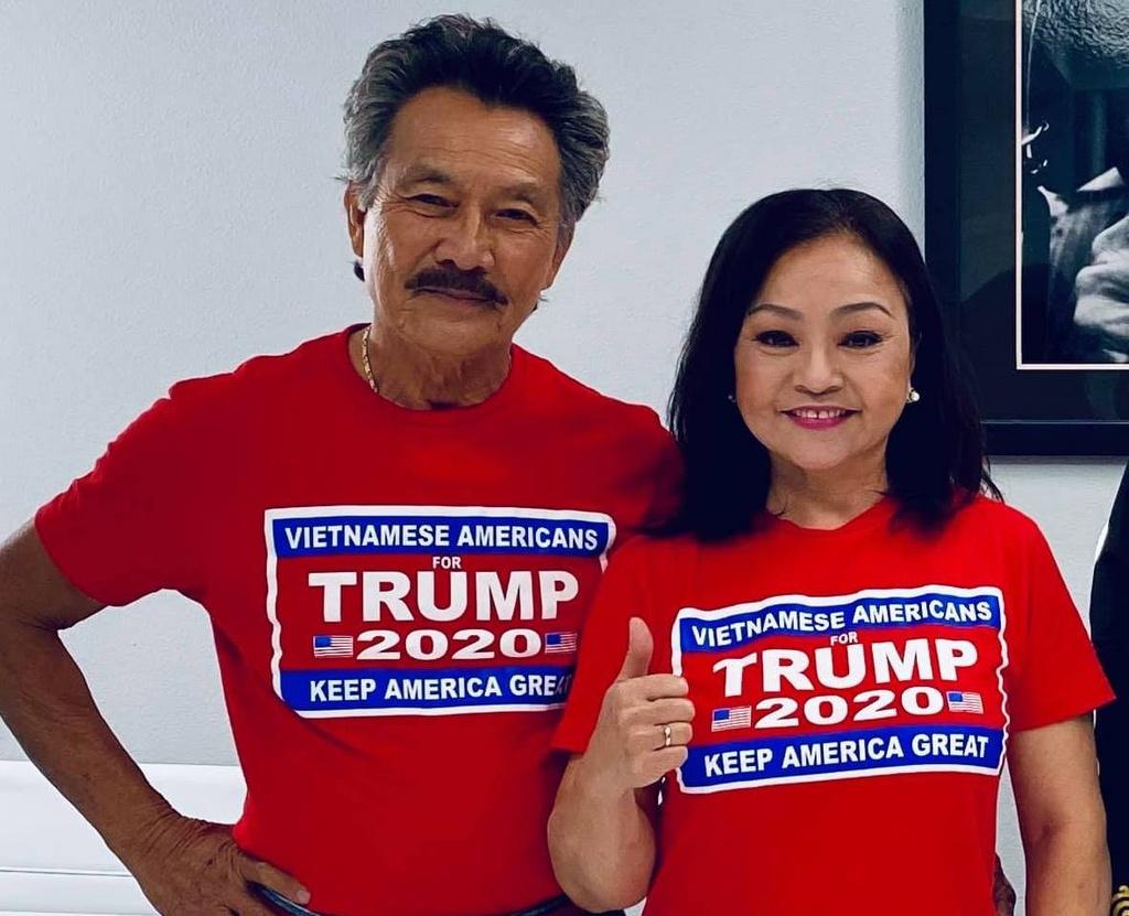 Nghe si Viet bau cho Trump anh 3