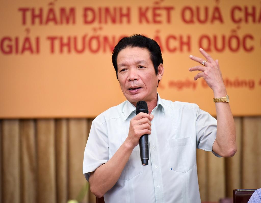 'Giai thuong Sach Quoc gia gop phan phat trien van hoa doc' hinh anh 1