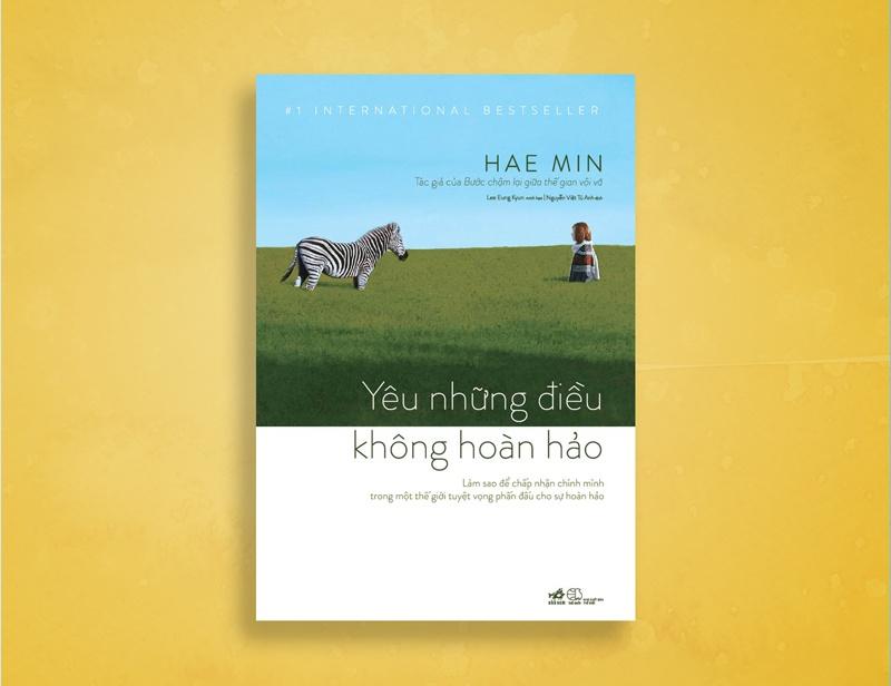 Sách Yêu những điều không hoàn hảo mới phát hành đầu tháng 9 tại Việt Nam.