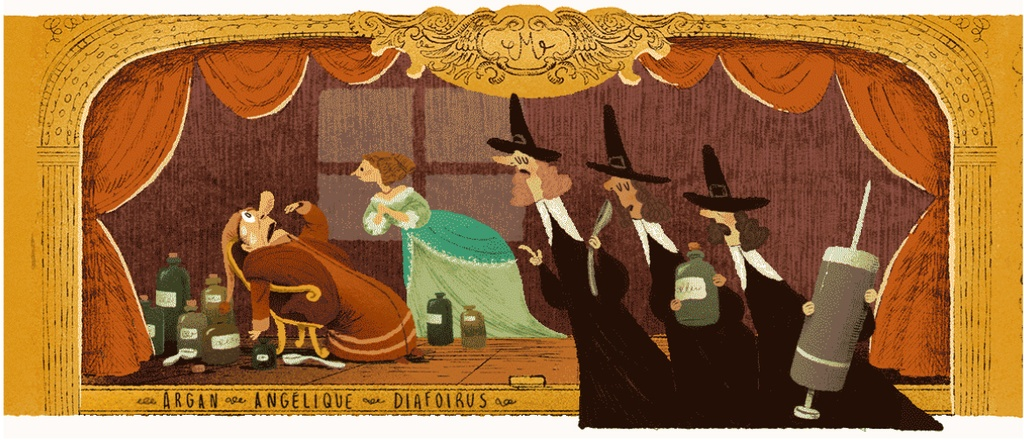 Moliere duoc Google doodle vinh danh qua nhung kiet tac hinh anh 5