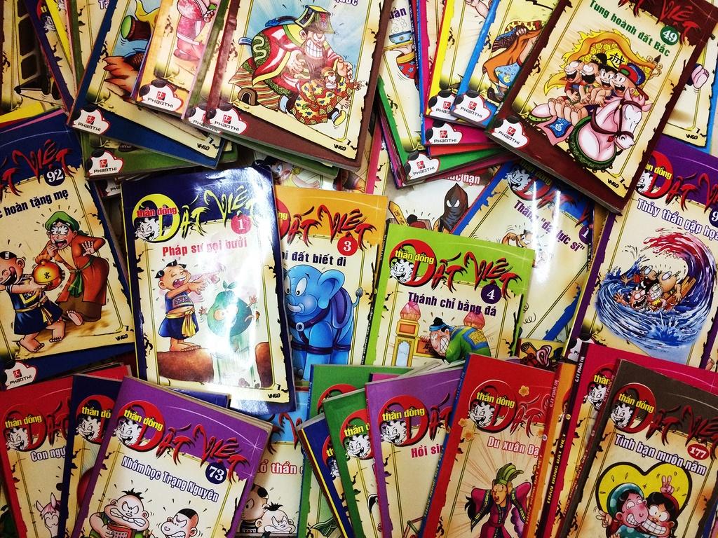 Tại sao 'Thần đồng đất Việt' có vị thế cao trong làng truyện tranh?