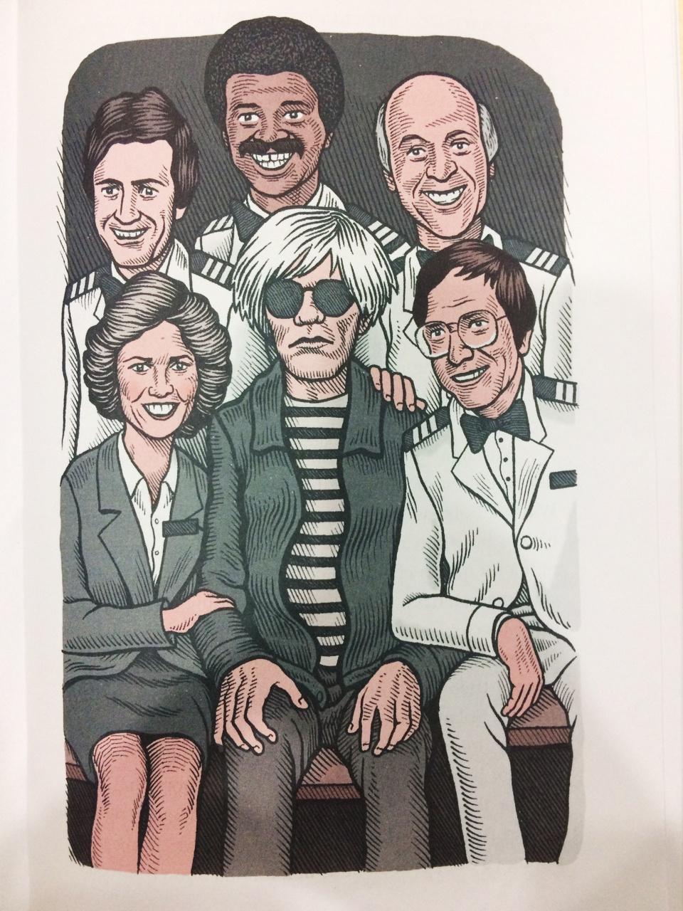 Andy Warhol lap di,  song buong tha anh 3