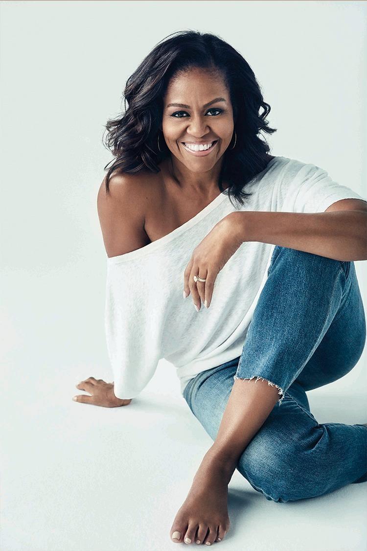 Michelle noi ve qua trinh viet hoi ky anh 2