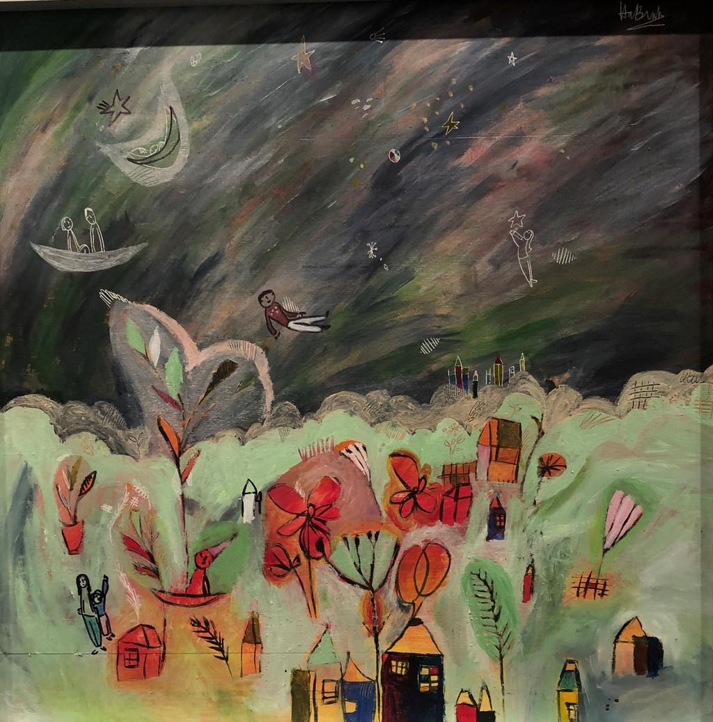 The gioi bay bong trong tranh co be 11 tuoi o Quang Binh hinh anh 5