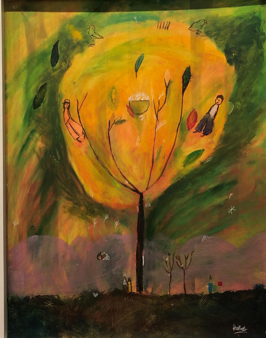 The gioi bay bong trong tranh co be 11 tuoi o Quang Binh hinh anh 8