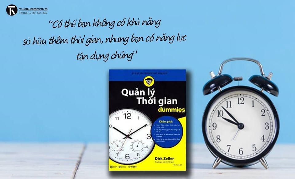 10 dau sach noi bat nhat cua Thai Ha Books nam 2019 hinh anh 9 quan_ly_thoi_gian_for_Dummies.jpg