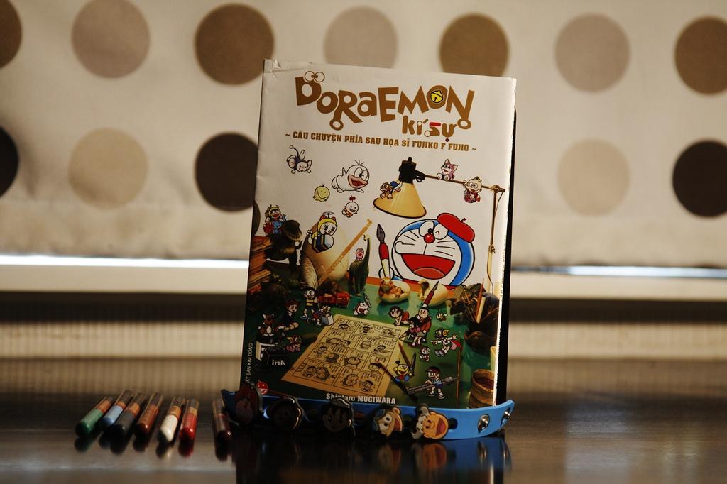 Tac gia 'Doraemon' nam chat cay but cho den khi hoan toan mat y thuc hinh anh 2 Fujiko_3.jpg