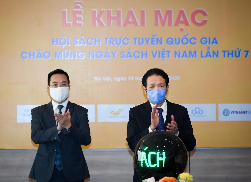 Khai mac Hoi sach truc tuyen 2020: De tinh yeu sach khong gian cach hinh anh 3 DSC_4430.jpg
