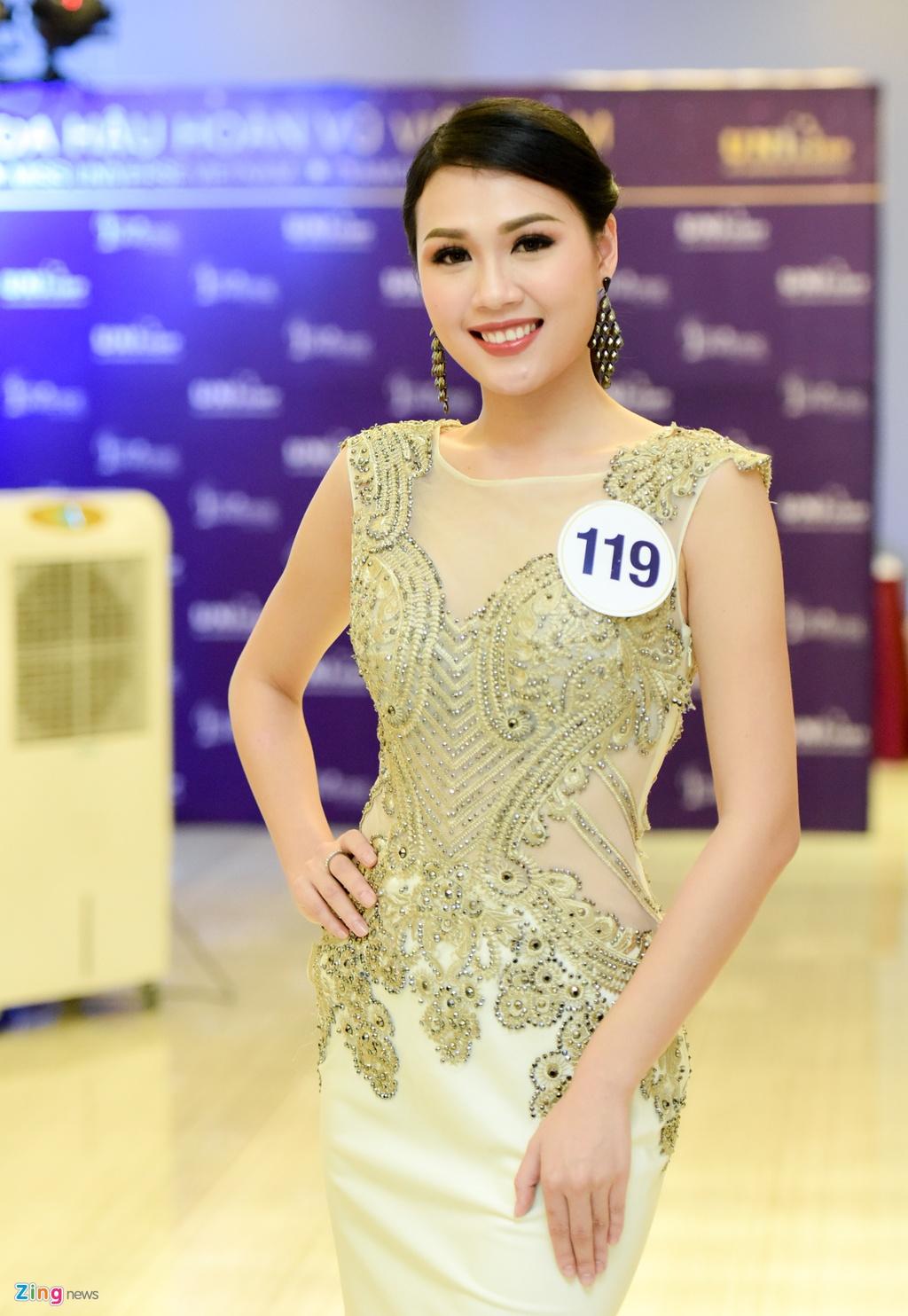 Nhan sac thi sinh Hoa hau Hoan vu Viet Nam truoc dem chung ket hinh anh 8