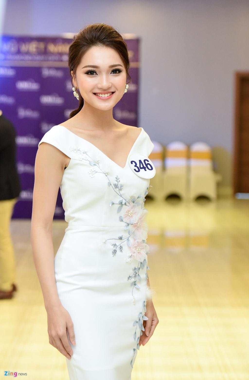Nhan sac thi sinh Hoa hau Hoan vu Viet Nam truoc dem chung ket hinh anh 9