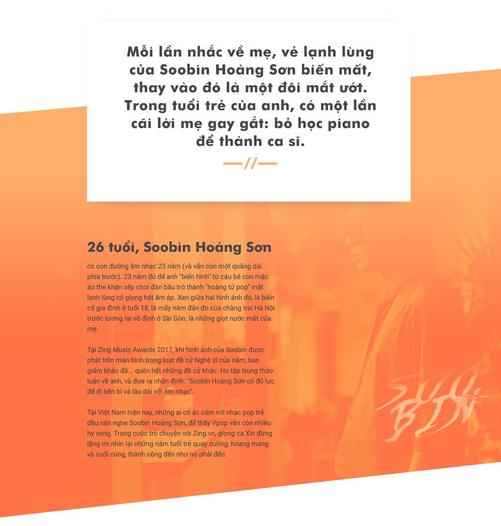 ... Soobin: \u0027Toi khong soi moi hay len mang da deu dong nghiep showbiz\u0027