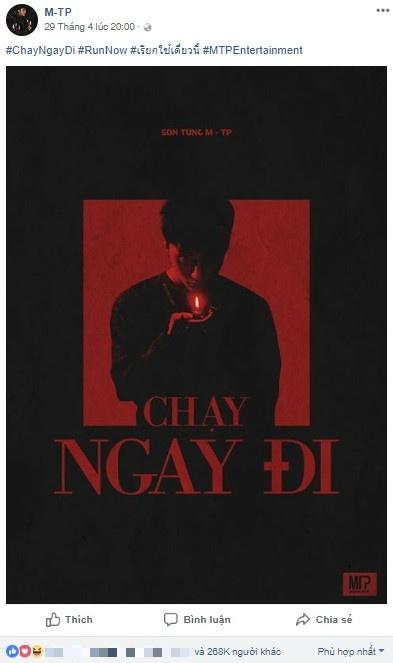 Son Tung M-TP va 'Chay ngay di': Chien luoc PR bai
