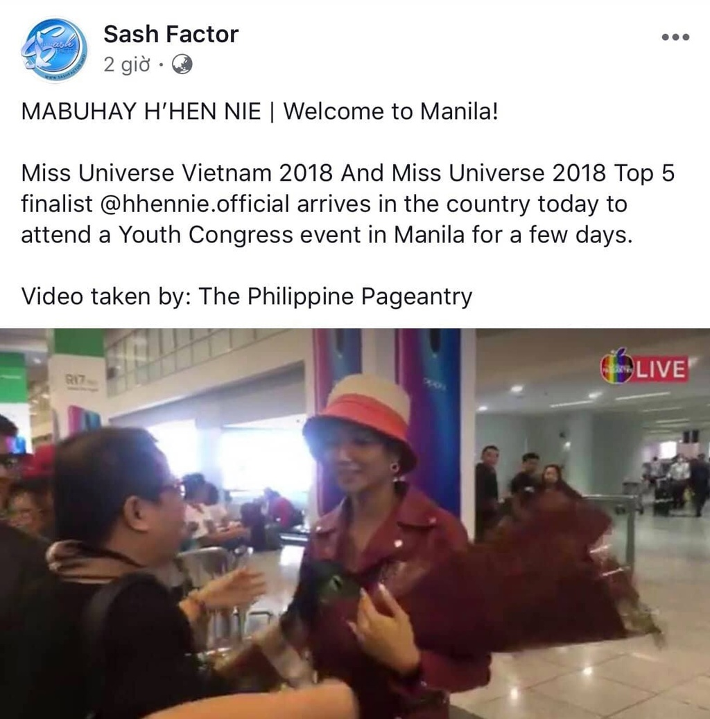 H'Hen Nie duoc chao don khi den Philippines hinh anh 6