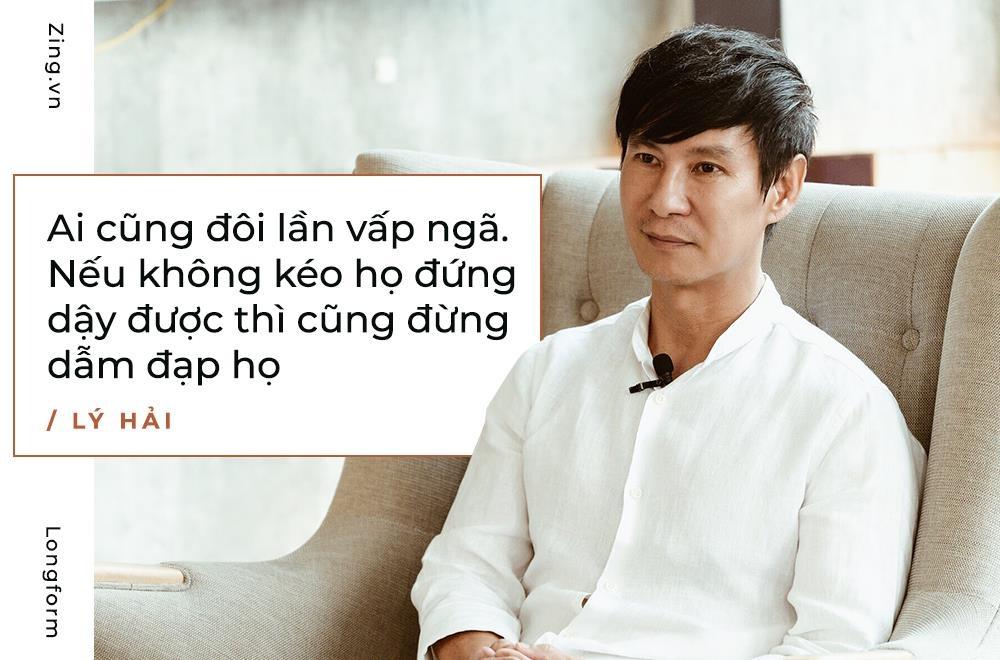 Ly Hai: 'Toi khong bon chen, san si, ve voi vo con la nhat' hinh anh 9