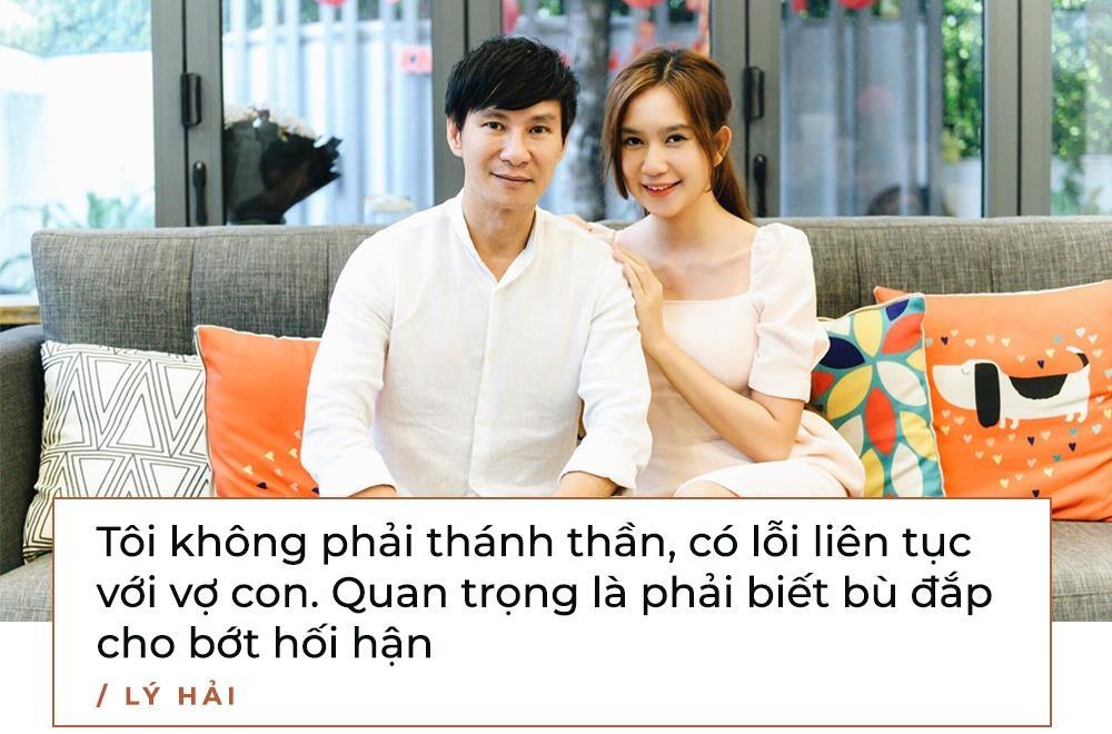 Ly Hai: 'Toi khong bon chen, san si, ve voi vo con la nhat' hinh anh 11